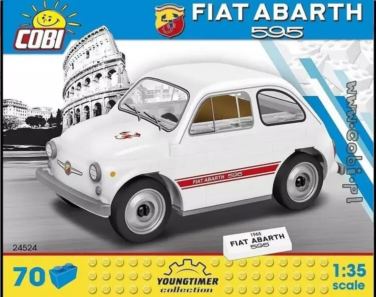 Youngtimer 1965 Fiat Abarth 595 - Cobi