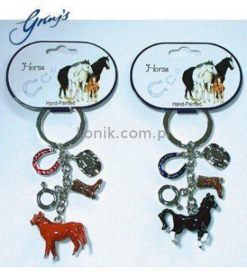 Brelok HORSE CHARMS - Gray''s