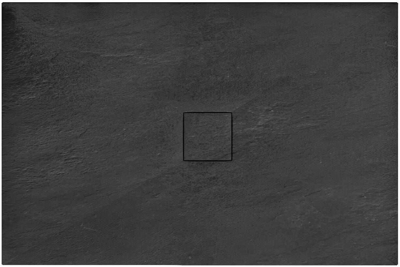 Brodzik prysznicowy 80x100 Black Stone Rea (REA-K9756)