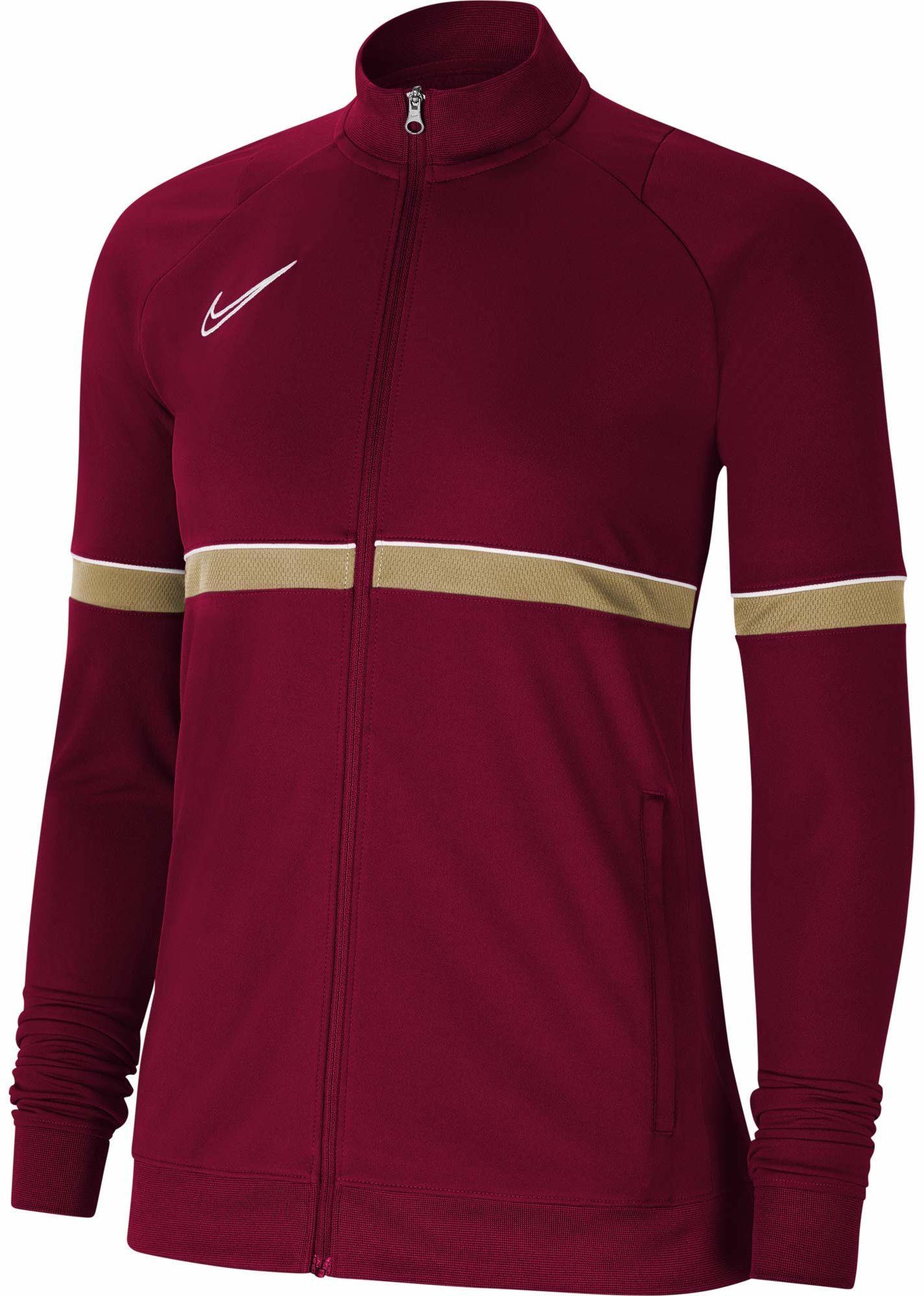Nike Damska kurtka damska Academy 21 Track Jacket Team Red/White/Jersey Gold/White XS