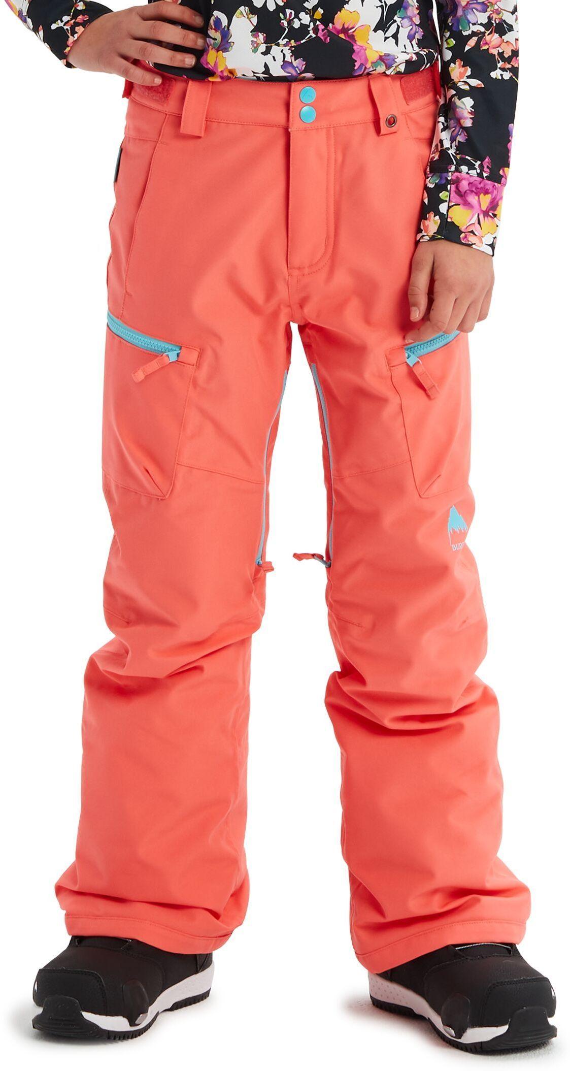 zimowe spodnie dziecięce BURTON GIRLS ELITE CARGO PT Georgia Peach