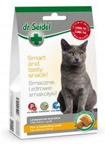 Smakołyki dr Seidla dla kotów na piękną sierść 50 g