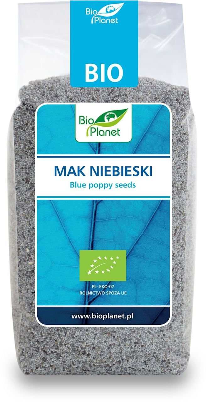 Mak niebieski bio 200 g - bio planet