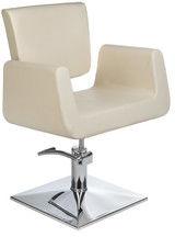 Fotel fryzjerski Vito BH-8802 kremowy
