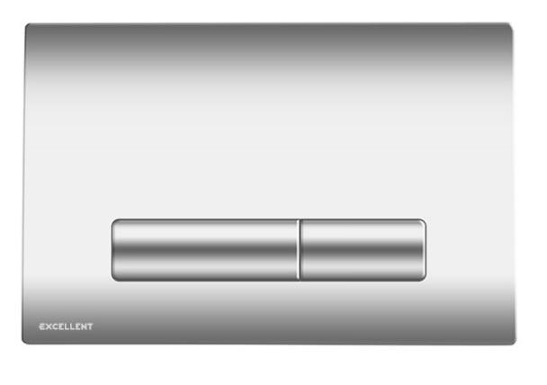 Excellent Aurro przycisk spłukujący 2-funkcyjny chrom INEX.AU230.150.CR