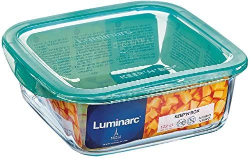 Luminarc ARC G8413 Keep n  pojemnik z pokrywką, 720 ml, szkło, przezroczysty, 1 sztuka