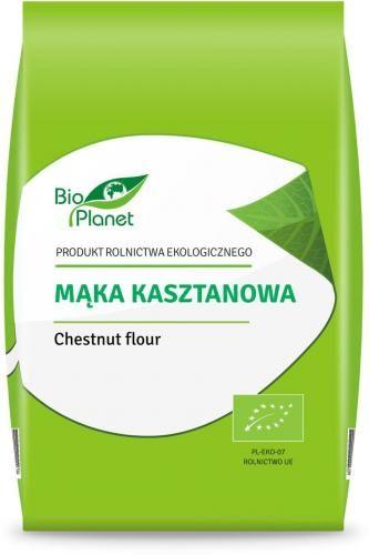Mąka kasztanowa BIO 400g Bio Planet