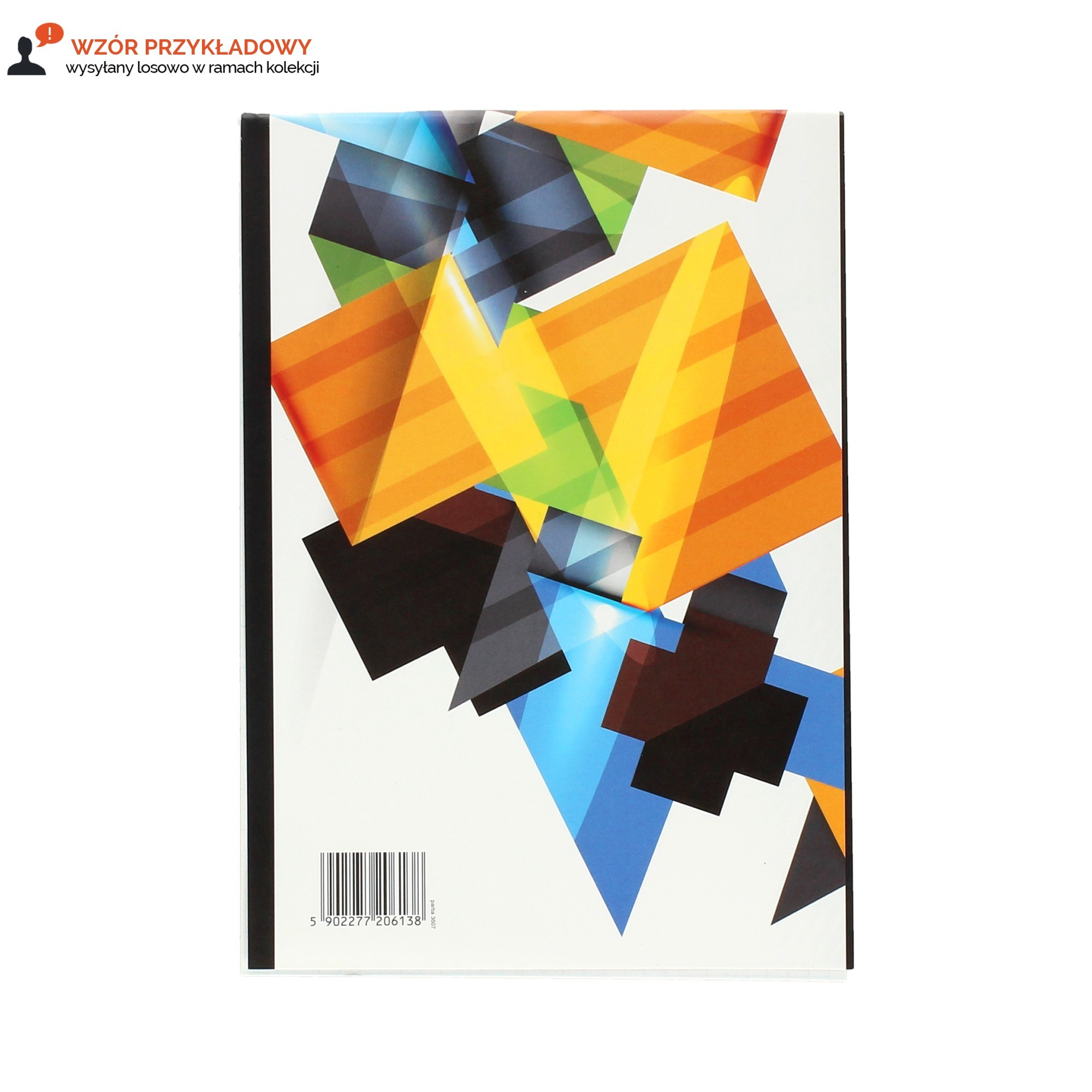Blok notatnikowy A5/100 kratka Eco Interdruk