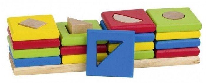 Drewniany sorter 4 kształty