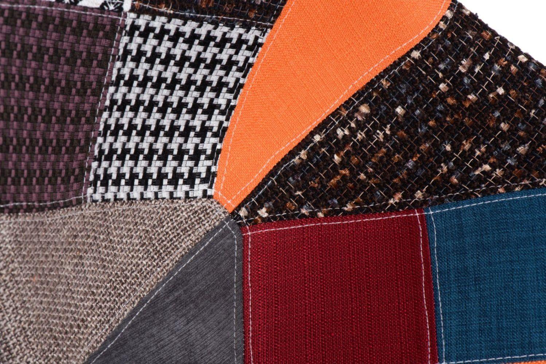 D2 Krzesło P016W patchwork kolorowy /dark