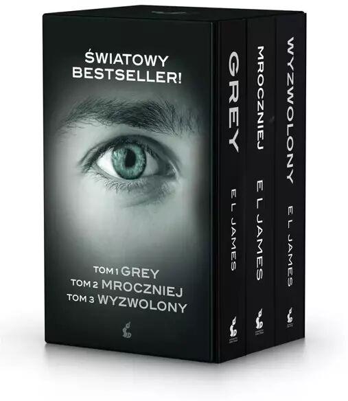 Pakiet: Grey, Mroczniej, Wyzwolony - James EL, Katarzyna Petecka-Jurek, Magda Kurylak,