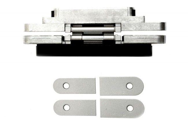 Zawias SIMONSWERK TECTUS TE240 3D 155x21 mm, ALU F1 - chrom satyna (skrzydło do 40 kg)