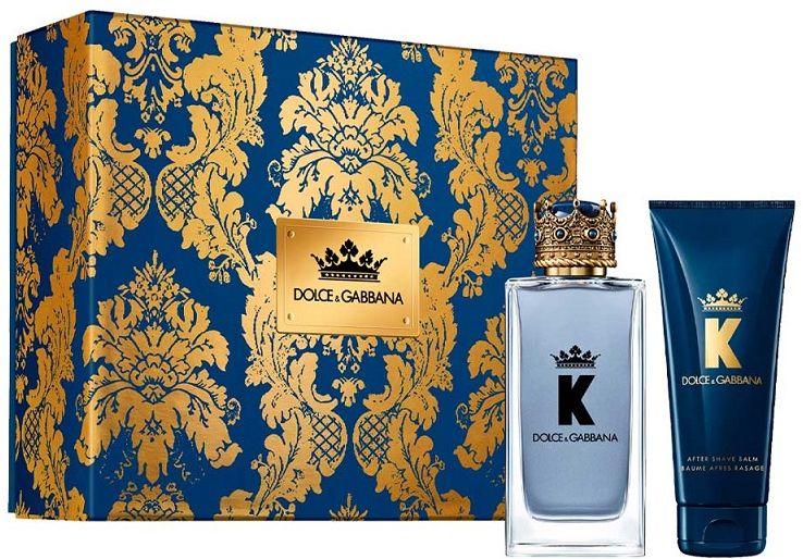 Dolce Gabbana K by Dolce Gabbana balsam po goleniu 75ml + woda toaletowa - 100ml