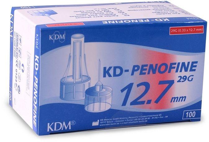 Penofine IGLA DO PENA 29G 0,33 x 12,7 PENOFINE (OP.100SZT) Igły do penów 29g (100 sztuk)
