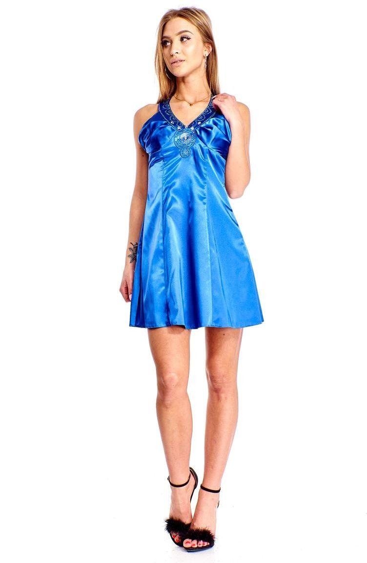 Sukienka FSU186 CHABROWY