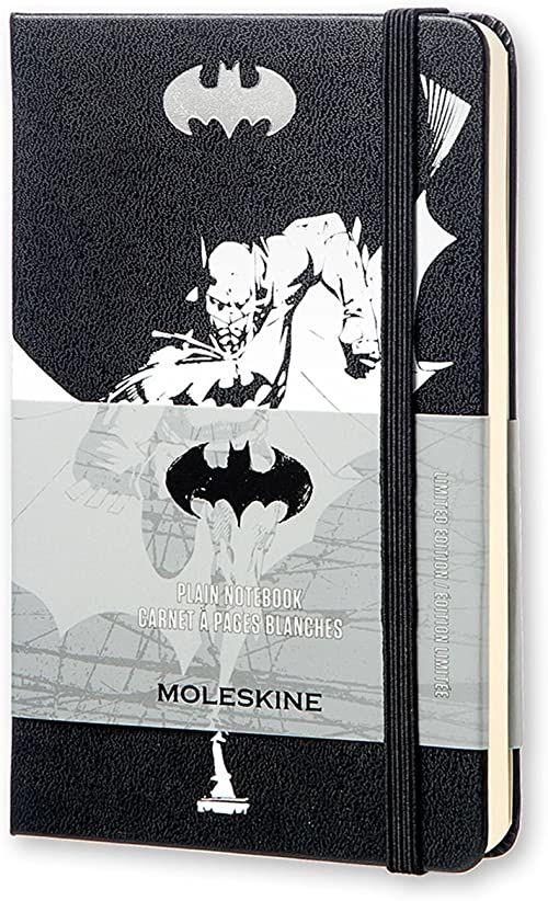 Moleskine Batman limitowana edycja twardy gładki notatnik kieszonkowy