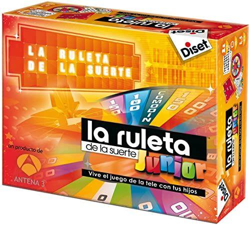 Diset - Junior Glücksruller - rodzinna gra planszowa znany program telewizyjny dla dzieci od 8 lat