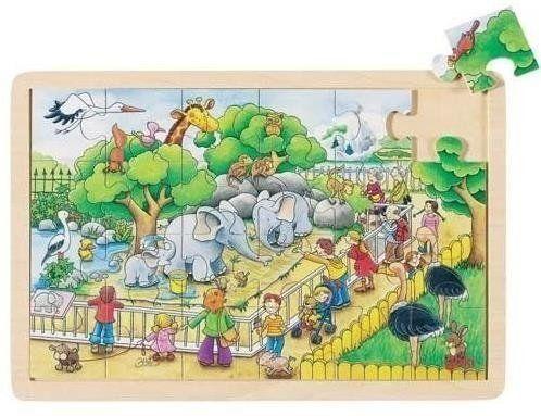 Puzzle 24 W zoo