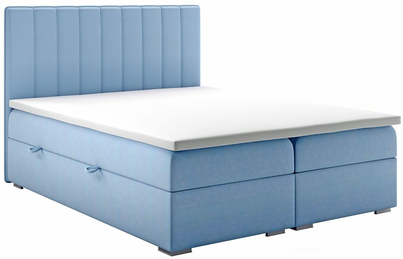 Łóżko kontynentalne Provence 120x200 - 58 kolorów