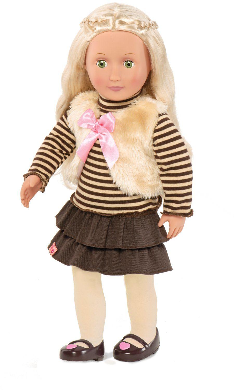 Our Generation BD31002Z lalka w/codzienny futrzany strój, ostrokrzew 45 cm, nylon cal