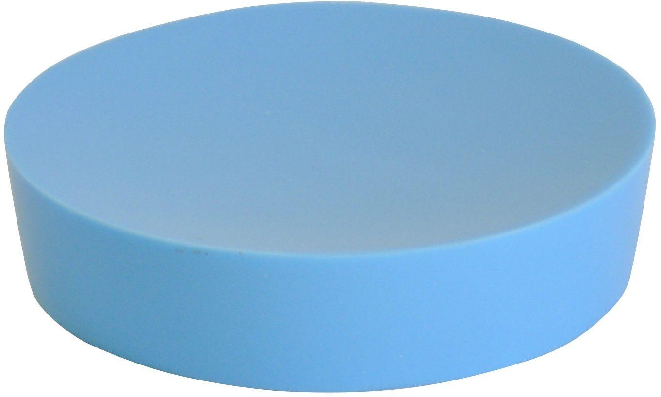 Grund PICCOLO mydelniczka 10,4 x 10,4 x 2,5 cm jasnoniebieska akcesoria, 100% żywica poliestrowa, 4 x 10,4 x 2,5 cm