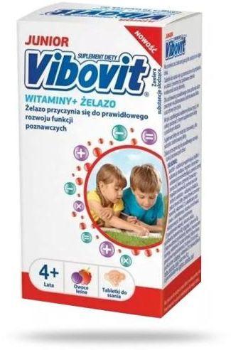 Vibovit Junior witaminy + żelazo 30 tabletek