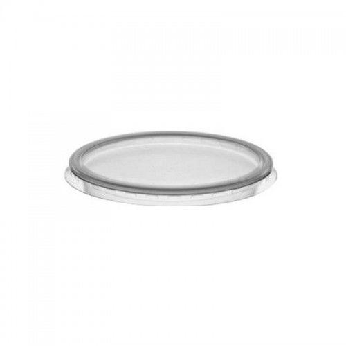 Wieczka, przykrywki do pucharków płaskie, 25 szt. (9,5 cm)