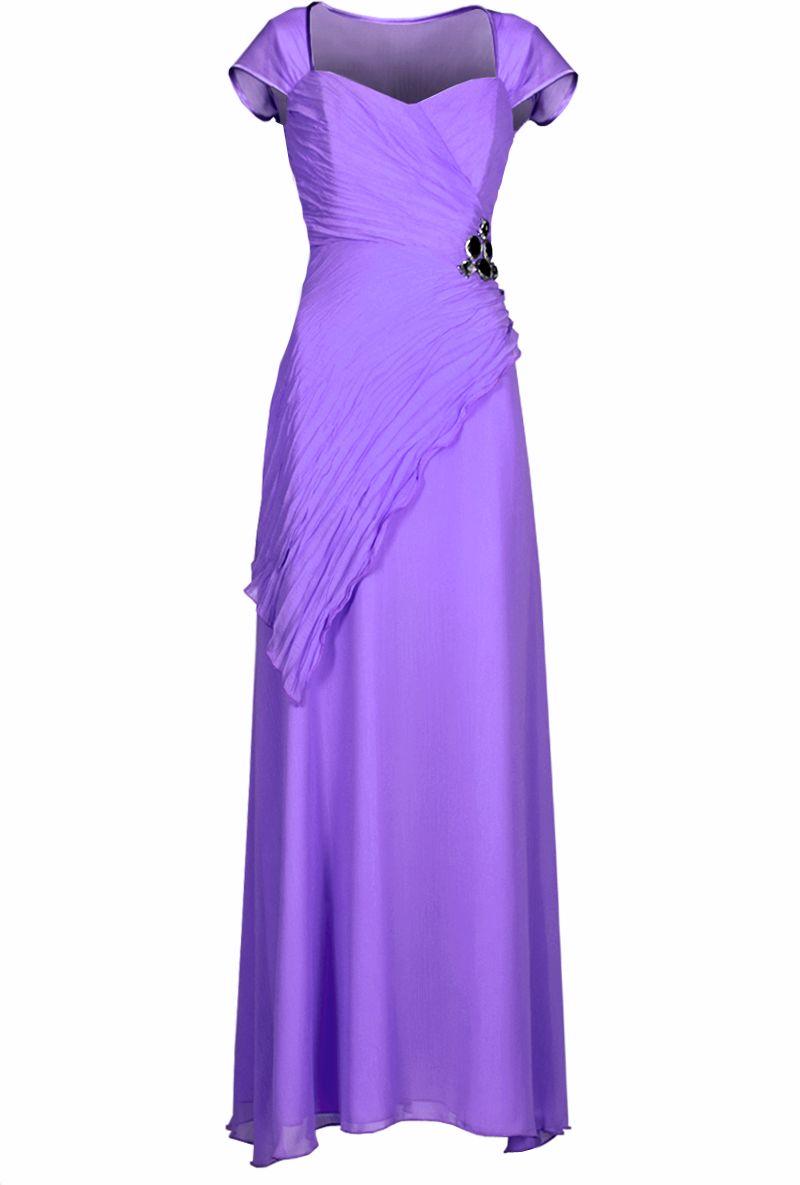 Sukienka FSU167 FIOLETOWY