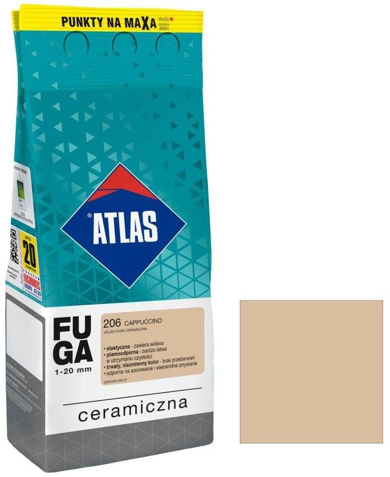 Fuga ceramiczna Atlas 206 cappuccino 2 kg