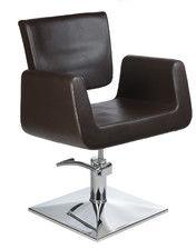 Fotel fryzjerski Vito BH-8802 brązowy