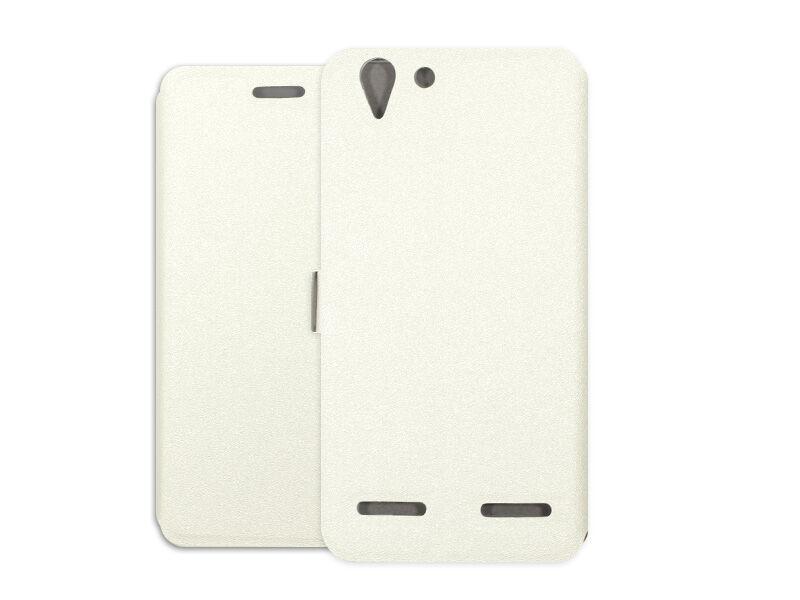 Lenovo K5 Plus - etui na telefon Wallet Book - biały
