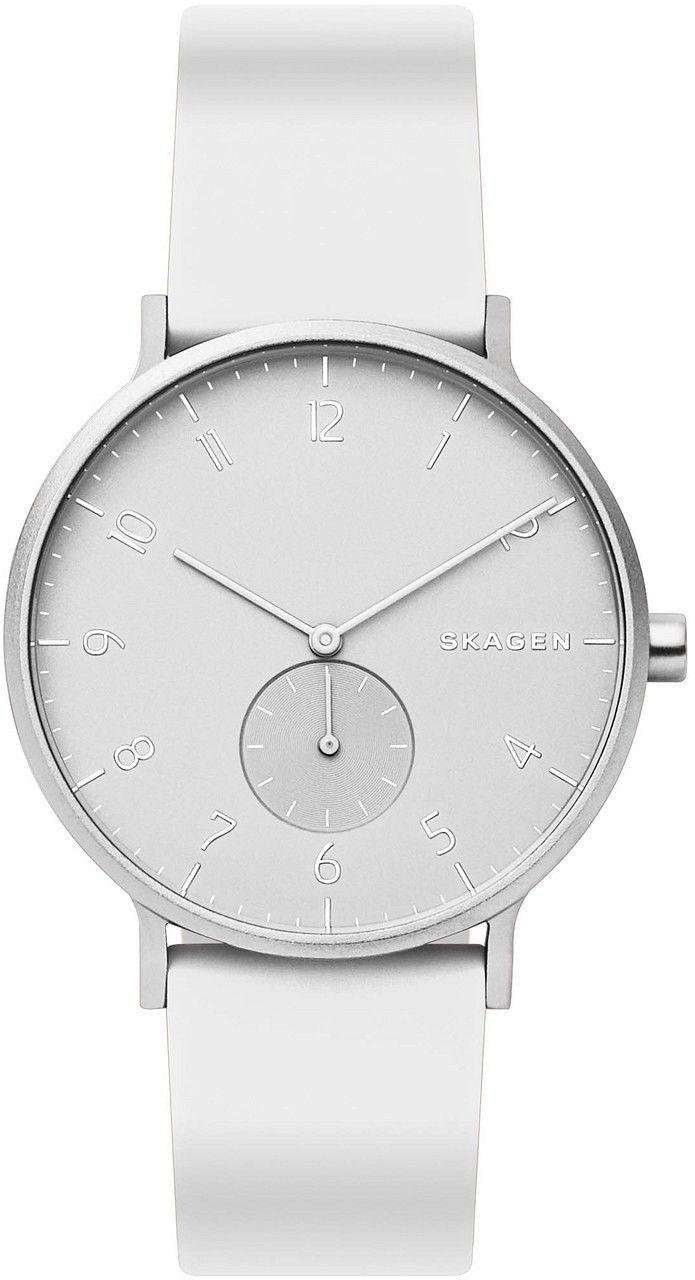 Zegarek Skagen SKW6520 Aaren Kulor White Silicone - CENA DO NEGOCJACJI - DOSTAWA DHL GRATIS, KUPUJ BEZ RYZYKA - 100 dni na zwrot, możliwość wygrawerowania dowolnego tekstu.