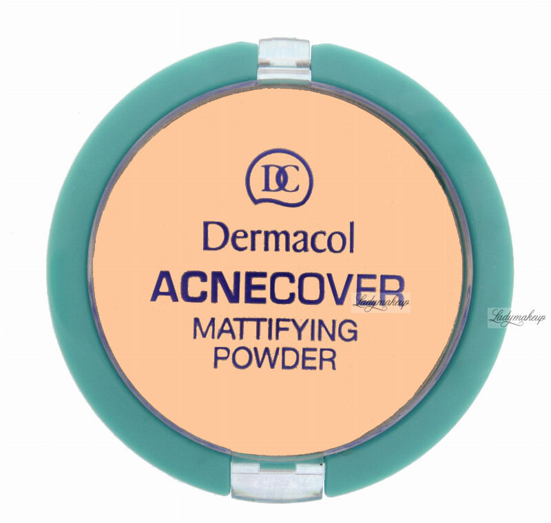 Dermacol - Acnecover Mattifying Powder - Puder matujący - SHELL