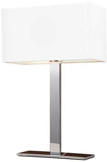 ŻARÓWKA LED GRATIS! Lampa stołowa Martens AZ1527 AZzardo biała oprawa w nowoczesnym stylu