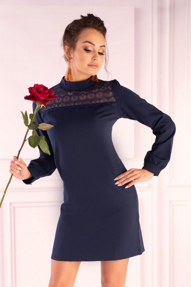 Morana Navy Blue 85601 sukienka