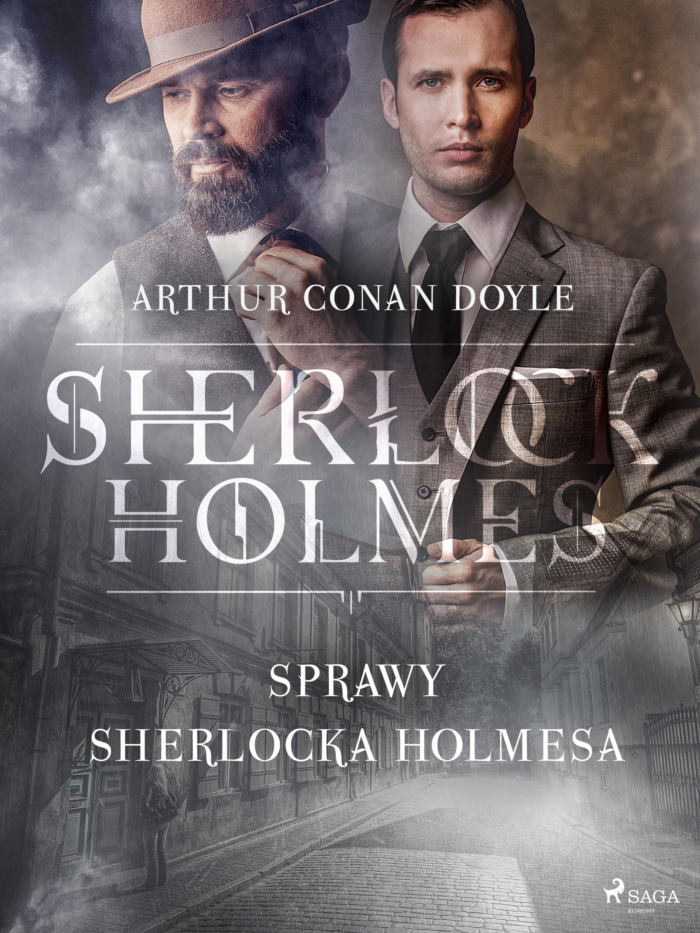 Sprawy Sherlocka Holmesa - Arthur Conan Doyle - ebook