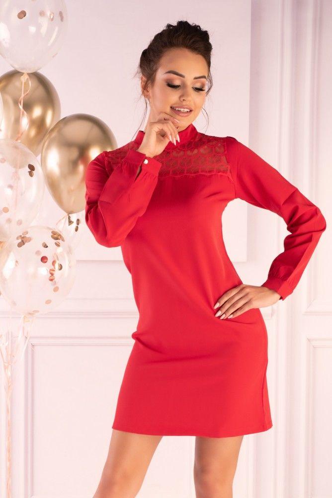 Morana Red 85601 sukienka