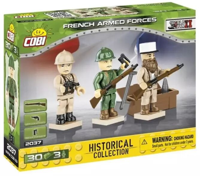 HC WWII French Armed Forces - Cobi