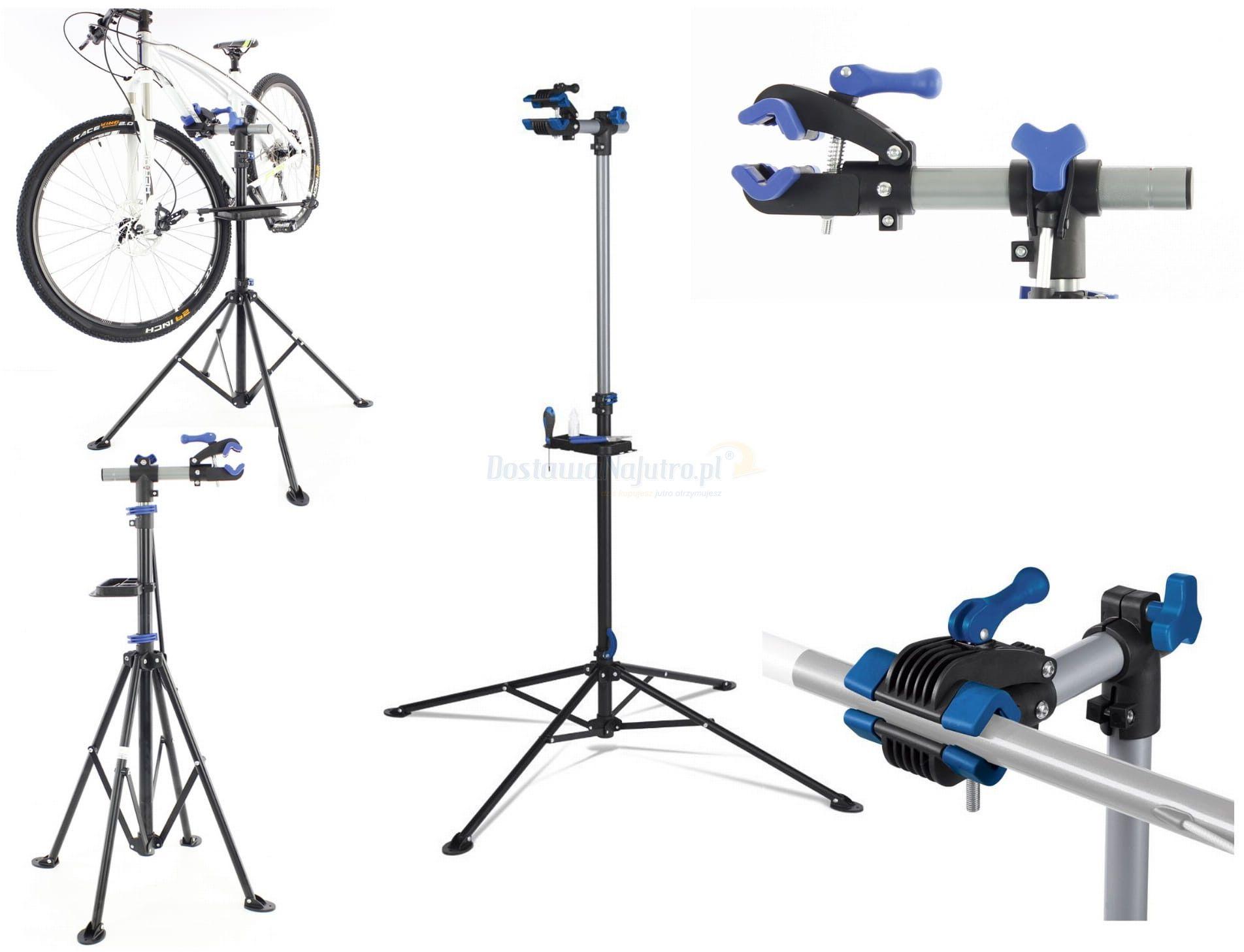 Serwisowy stojak rowerowy - mocny do 30 kg składany