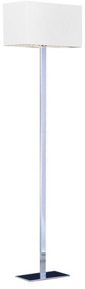ŻARÓWKA LED GRATIS! Lampa podłogowa Martens AZ1528+AZ1560 AZzardo biała oprawa w nowoczesnym stylu