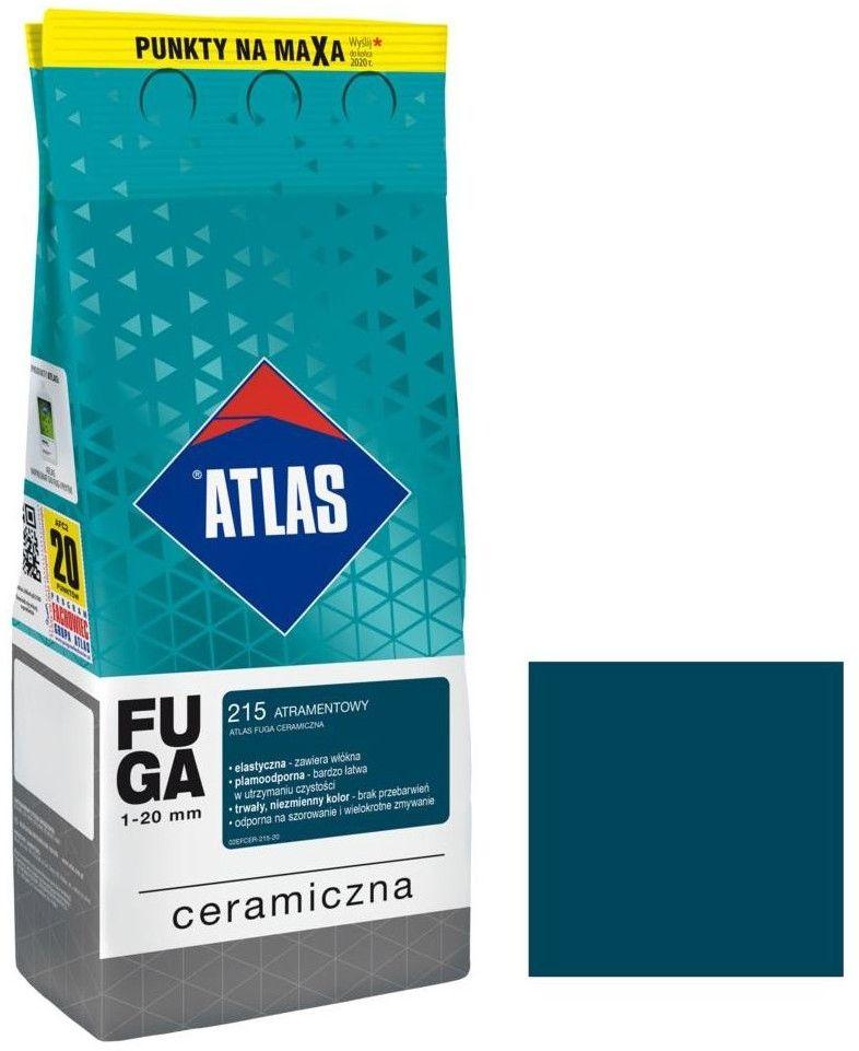 Fuga ceramiczna Atlas 215 atramentowy 2 kg