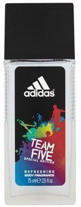 Adidas Team Five naturalny dezodorant w sprayu - 75ml Do każdego zamówienia upominek gratis.