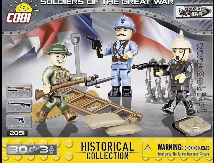 HC WWII Soldiers of The Great War - Cobi