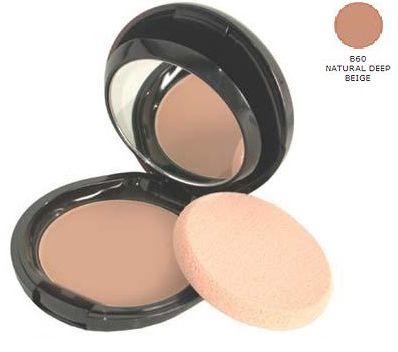 Shiseido The Makeup Compact Foundation SPF 15 B60 Natural Deep Beige Kremowo-pudrowy podkład w kompakcie - 13g Do każdego zamówienia upominek gratis.