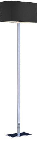 ŻARÓWKA LED GRATIS! Lampa podłogowa Martens AZ1528+AZ1561 AZzardo czarna oprawa w nowoczesnym stylu