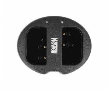 Ładowarka dwukanałowa Newell SDC-USB do akumulatorów DMW-BLF19E (Panasonic GH3, GH4)