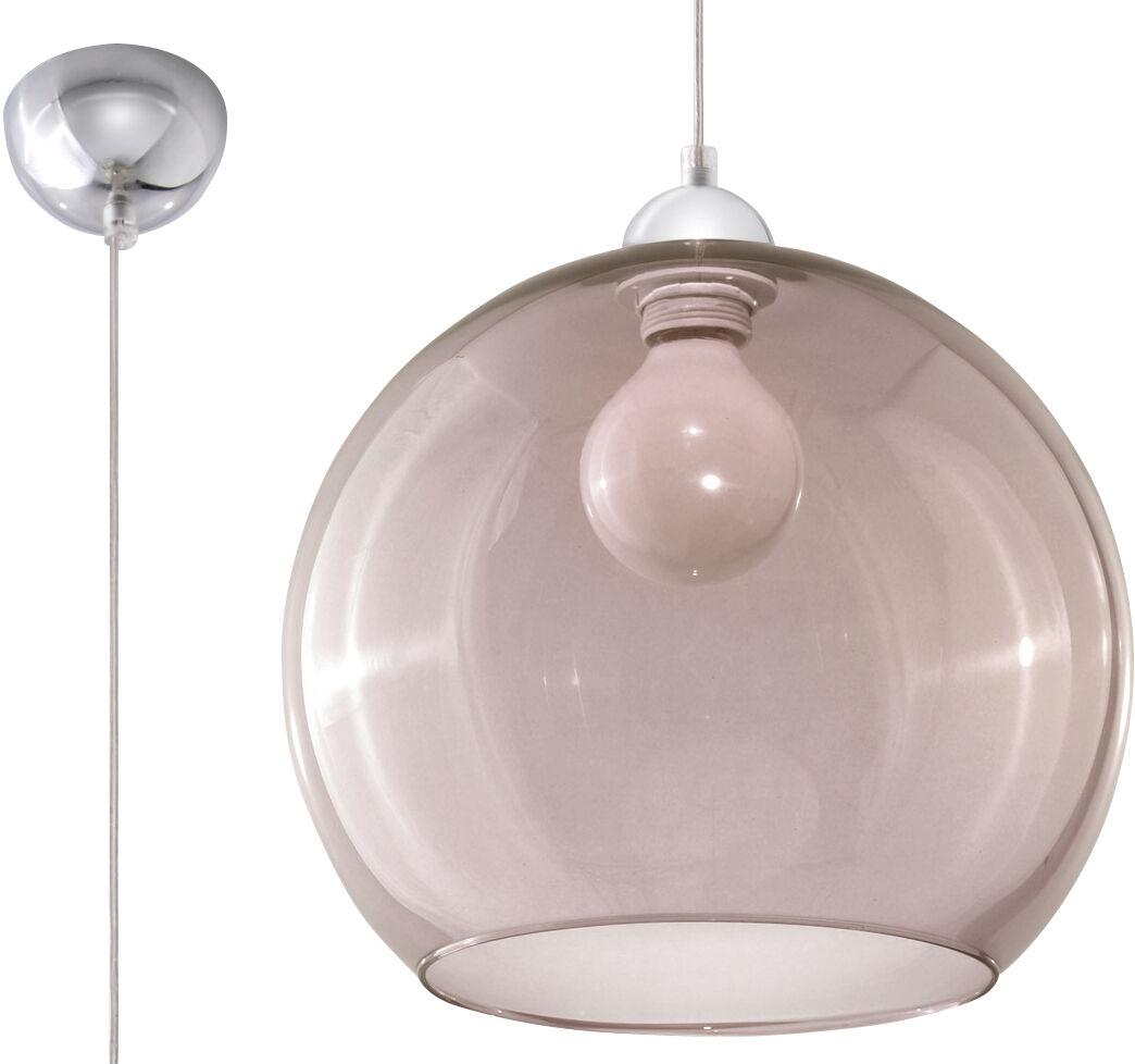 Lampa wisząca BALL grafit SL.0250 - Sollux  Sprawdź kupony i rabaty w koszyku  Zamów tel  533-810-034