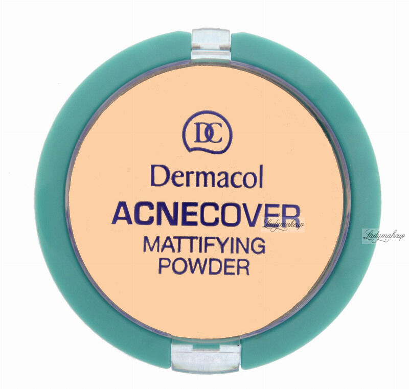 Dermacol - Acnecover Mattifying Powder - Puder matujący - SAND