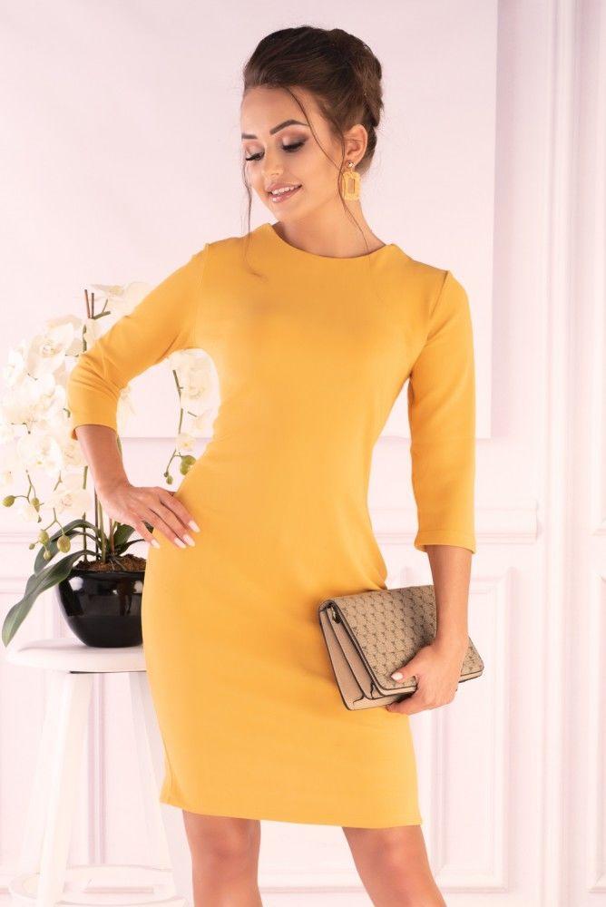 Nysani Yellow sukienka