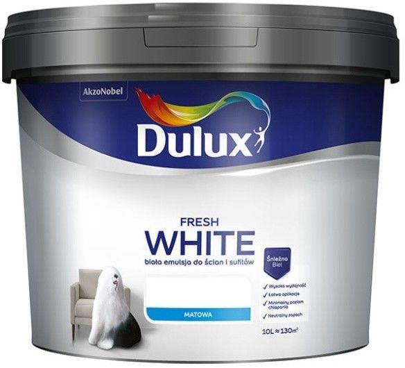 Dulux Fresh White 10 l